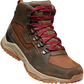 Keen Innate Leather Mid WP Kengät Naiset, praline/cherry